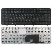 Клавиатура HP Pavilion DV6-3000, DV6-3100, DV6-3200, DV6-3300, AELX8700310, 606745-251, 604034-251 Чёрная, с рамкой