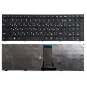 Клавиатура Lenovo Flex 2 15, 2 15D, IdeaPad 300-15IBR, 300-15ISK, 300-17ISK, B50-30, B50-45, B50-70, B50-80, G50-30, G50-45, G50-70, G50-75, G50-80, G70-70, S500, Z50-70, Z50-75, Z70-80 Черная, черная рамка