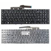 Клавиатура Samsung NP270E5E, NP270E5G, NP270E5U, NP270E5V, NP350E5C, NP350V5C, NP350V5X, NP355E5C, NP355E5X, NP355V5C, NP355V5X, NP550P5C, BA59-03270C Чёрная, без рамки