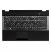Верхняя панель с клавиатурой Samsung NP-RC530, BA75-03201C Черная